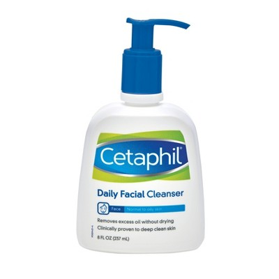 Facial Cleanser: Cetaphil Daily Facial Cleanser