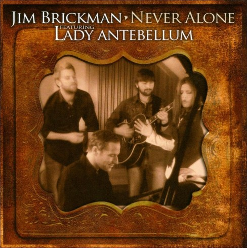 Jim brickman - Never alone (CD) - image 1 of 7