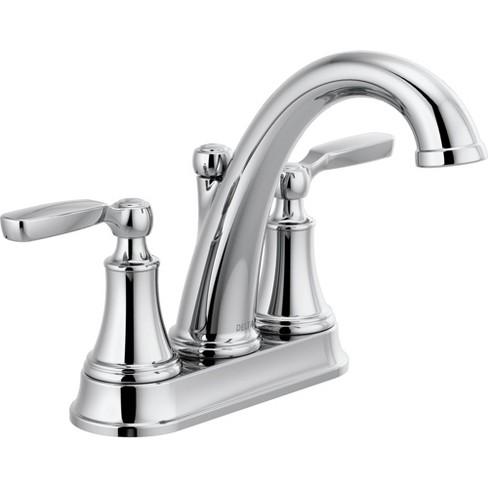 Delta Bathroom Faucets.Delta Faucet 2532lf Mpu Woodhurst 1 2 Gpm Centerset Bathroom