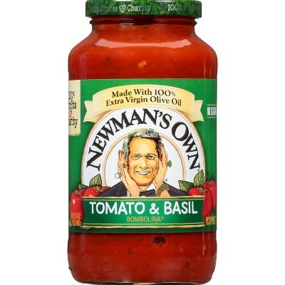 Newman's Own Tomato Basil Pasta Sauce - 24oz