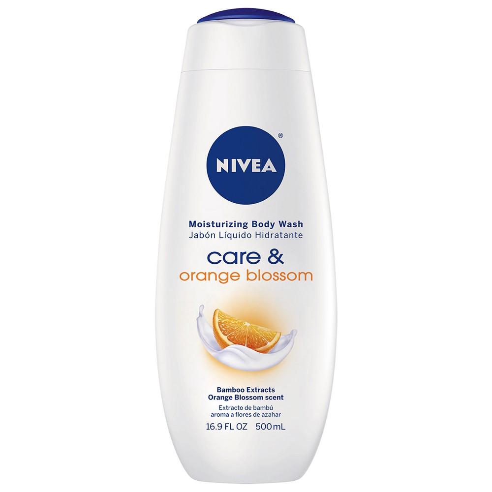 Image of NIVEA Care and Orange Blossom Moisturizing Body Wash - 16.9 fl oz