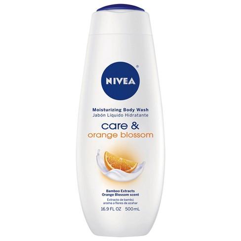 NIVEA Care and Orange Blossom Moisturizing Body Wash - 16.9 fl oz - image 1 of 4