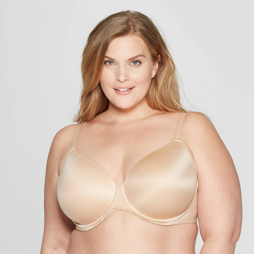 Women's Plus Size Superstar Lightly Lined T-shirt Bra - Auden - Pearl Tan 40DD