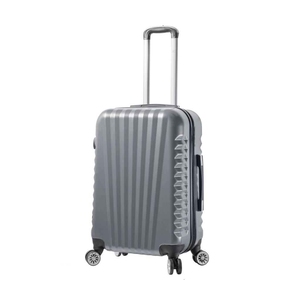 Mia Viaggi Italy Catania 24 Hardside Suitcase - Silver
