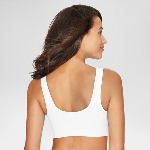 848f68a92c580 Hanes® Women s Cozy Seamless Bra - White XL   Target