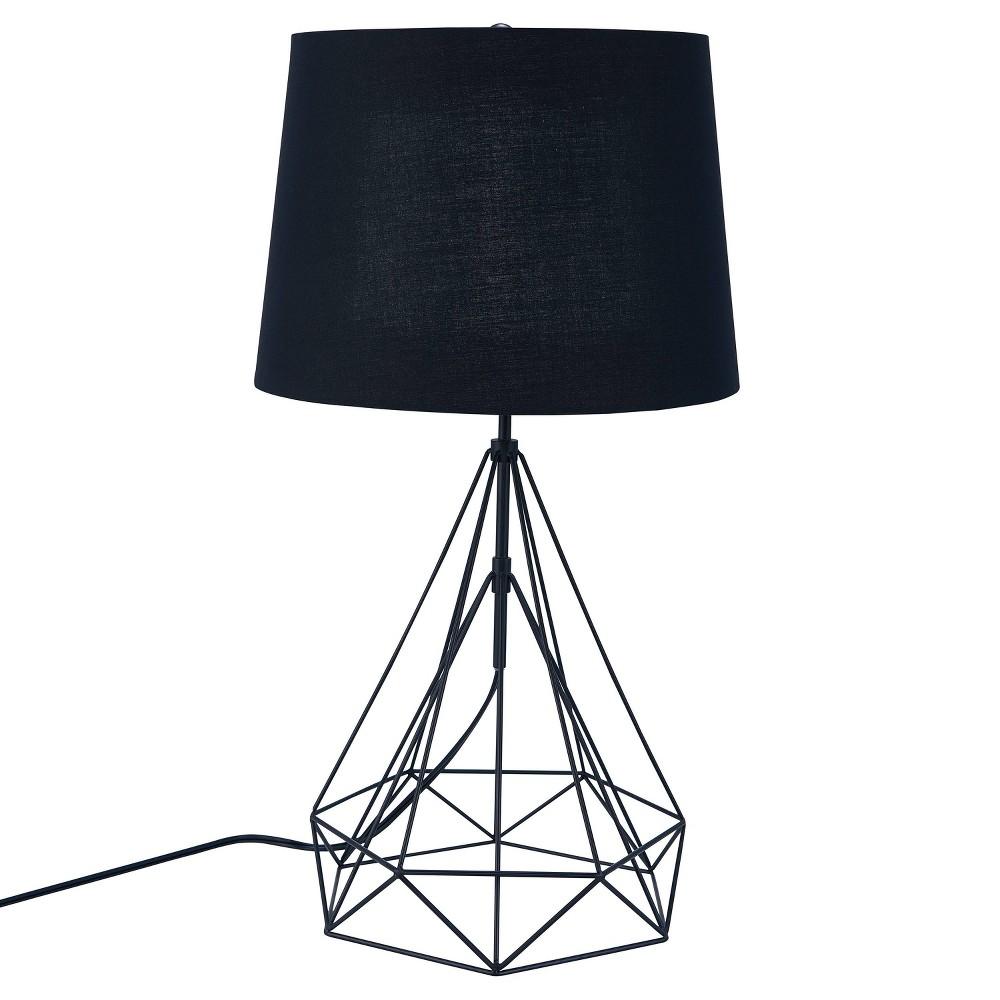 Jonbla Metal Table Led Lamp Black (Includes Energy Efficient Light Bulb) - Aiden Lane