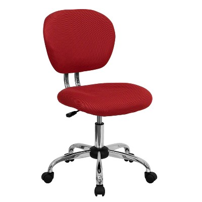 Mid Back Mesh Padded Swivel Task Office Chair - Flash Furniture