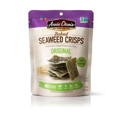 Seaweed Snacks: Annie Chun's