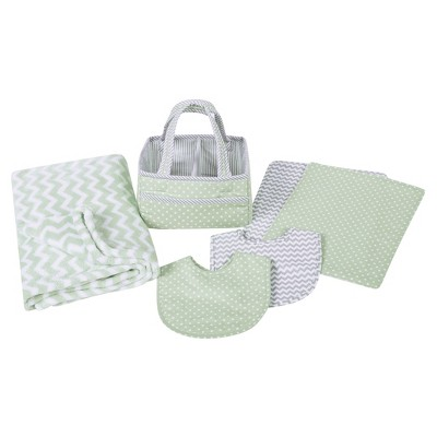 Trend Lab Baby Care Gift Set - Sea Green 6pc