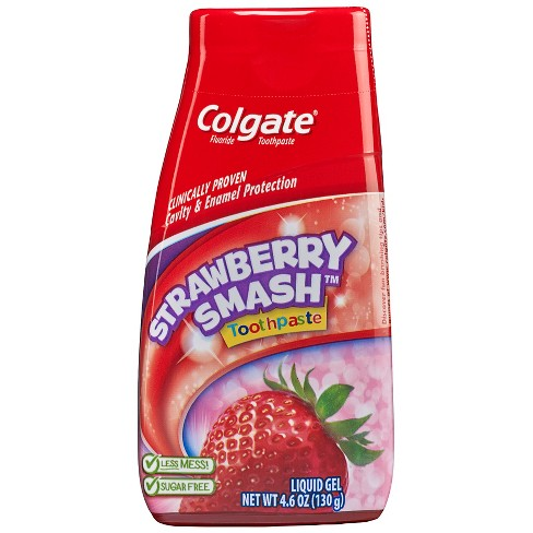 Colgate Kids 2-in-1 Toothpaste and Mouthwash Strawberry Smash - 4.6oz - image 1 of 3