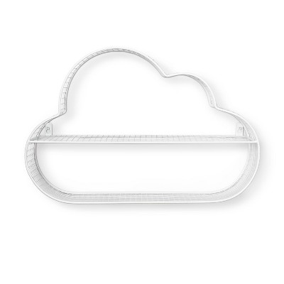 Wire Cloud Shelf White - Pillowfort™