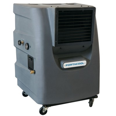 Portacool PACCY130 Cyclone 130 Outdoor Patio, Garage, Campsite Portable 2 Speed 700 Square Foot Evaporative Air Cooler with 16 Gallon Tank