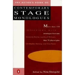 The Actor's Book of Contemporary Stage Monologues - (Paperback)