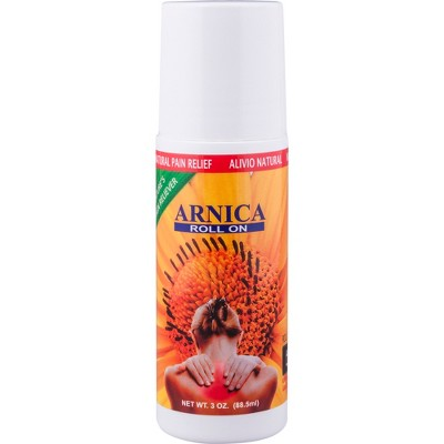 Sanvall Arnica Roll On with Menthol for Pain Relief – 3oz