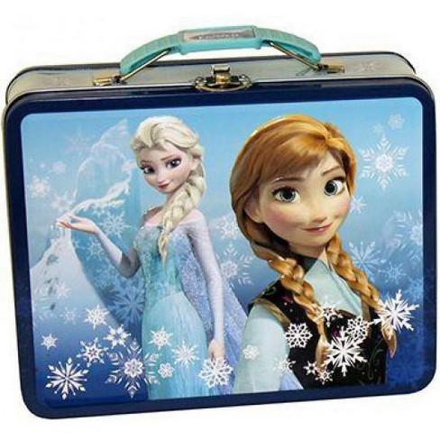Disney Frozen Anna and Elsa Tin [Blue] - image 1 of 1