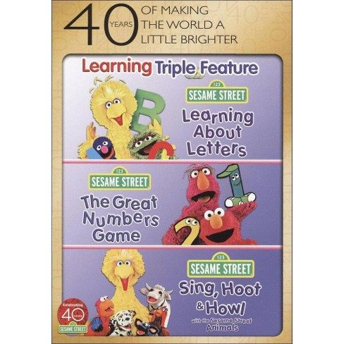 Sesame Street: Learning Triple Feature (3 Discs) (dvd_video) - image 1 of 1