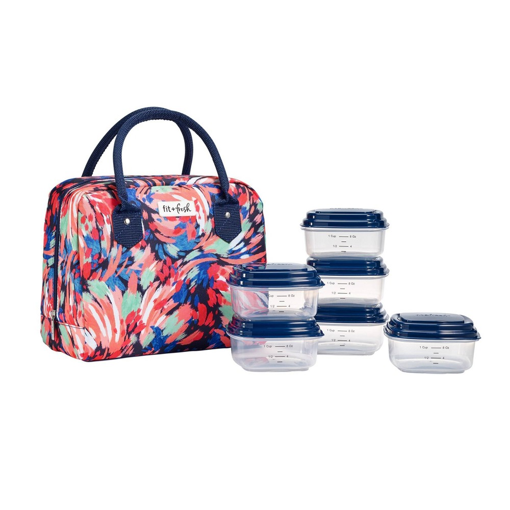 Image of Fit & Fresh Bloomington Lunch Kit - Floral