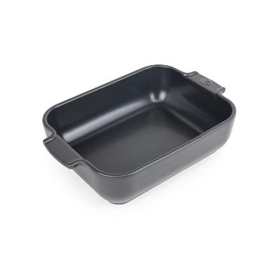 Peugeot Appolia Slate Gray Ceramic 1.5 Quart Rectangular Baking Dish
