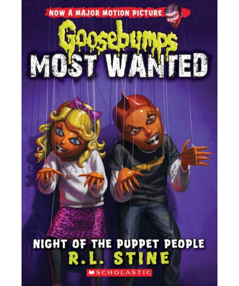 Night of the Puppet People (Paperback) (R. L. Stine) - image 1 of 1