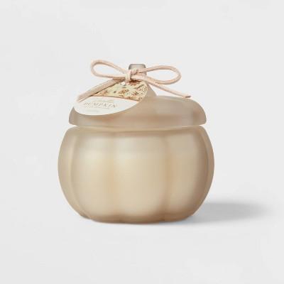 Mini Pumpkin Vanilla Pumpkin Stucco Candle - Threshold™