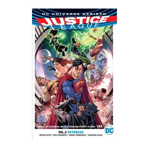 Justice League 2 Outbreak Vol 1 Paperback Bryan Hitch Target