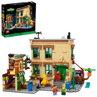 LEGO Ideas 123 Sesame Street Building Kit 21324