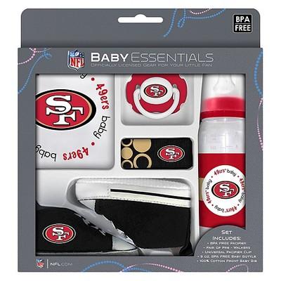 NFL San Francisco 49ers® Baby Fanatic 5-Piece Gift Set
