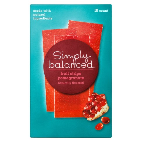 Pomegranate Fruit Strips - 10ct - Simply Balanced™ - image 1 of 3