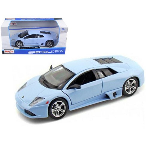 Lamborghini Murcielago Lp640 Baby Blue 1 24 Diecast Model Car By