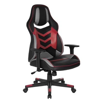 Eliminator Gaming Chair in Faux Leather - OSP Home Furnishings