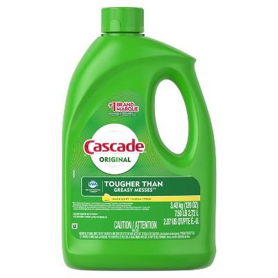 Cascade Base Gel Lemon Dishwasher Detergent - 120 fl oz