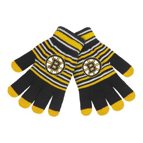 NHL Stripe Knit Gloves - image 1 of 1