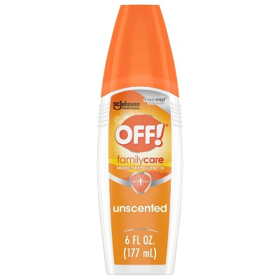 OFF! FamilyCare Mosquito Repellent IV Unscented 1ct - 6oz