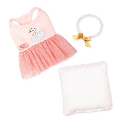 Our Generation Pet Dog Ballet Outfit - Pirouette Puppy