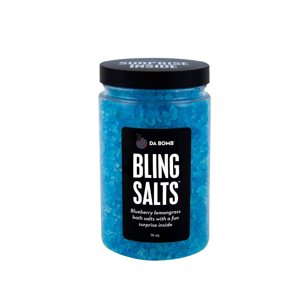 Image of Da Bomb Bath Fizzers Bling Bath Salts Jar - 16oz