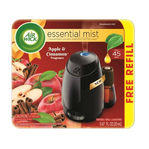Air Wick Apple & Cinnamon Scented Starter Kit Free Refill - 1ct - image 1 of 4