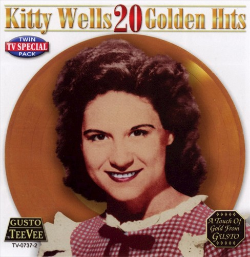 Kitty wells - Kitty wells:20 golden hits (CD) - image 1 of 1