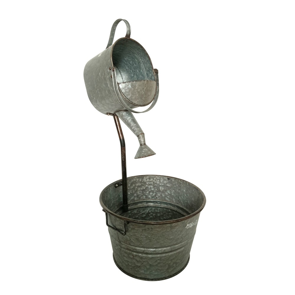 """Image of """"33""""""""H Outdoor Fountain - Gray - Backyard Expressions"""""""