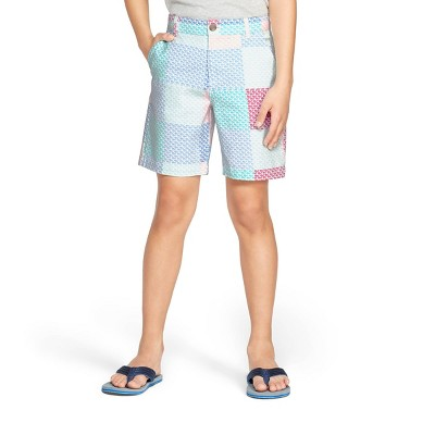 Boys' Patchwork Whale Shorts   Pink/Blue   Vineyard Vines® For Target by Pink/Blue