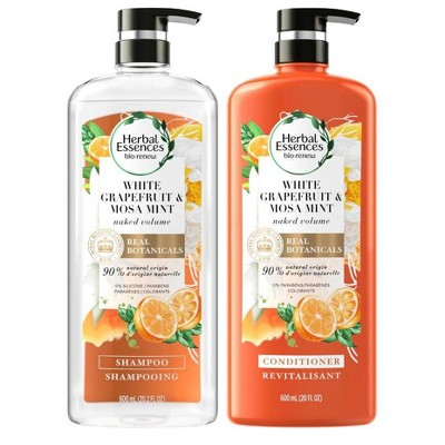Herbal Essences bio:renew White Grapefruit & Mosa Mint Shampoo and Conditioner Bundle - 20.2 fl oz each