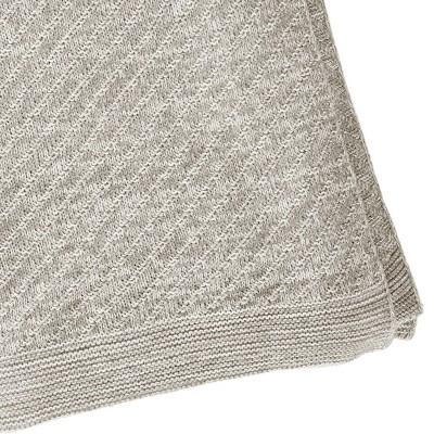 "Kenneth Cole New York Kcny Essentials Throw Blanket, Knit, Light Grey, 50"" X 60"" : Target"