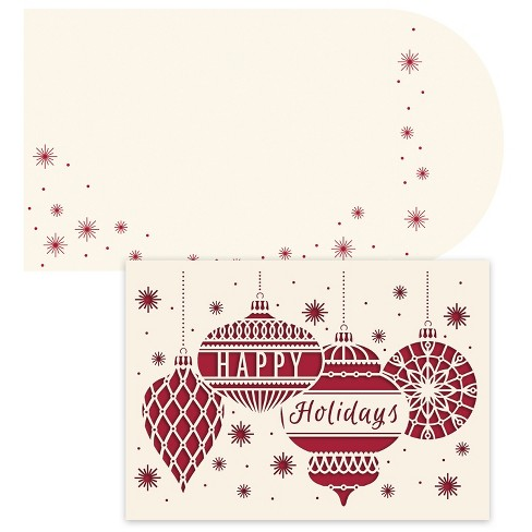 12ct hortense b hewitt ornament greetings laser cut boxed card set about this item m4hsunfo