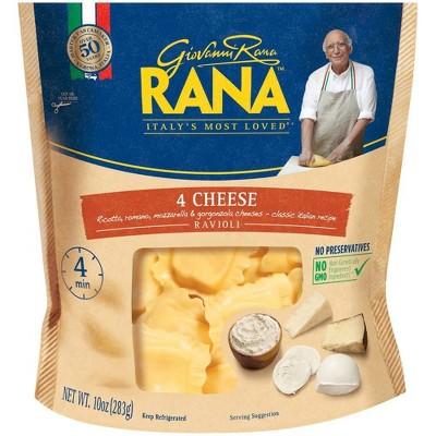 Rana Ravioli 4 Cheese Stuffed Pasta And Dumplings - 10oz