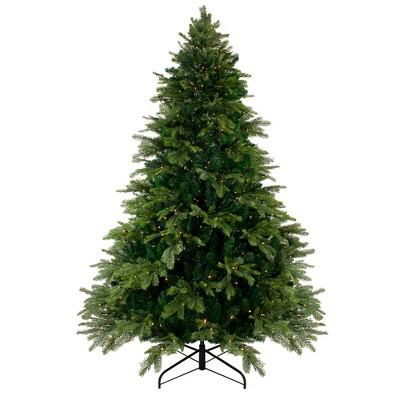 Northlight 9' Pre-Lit Woodcrest Pine Artificial Christmas Tree - Clear Lights