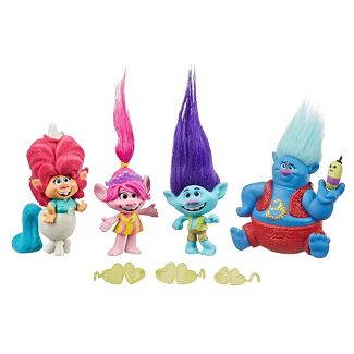 Trolls World Tour Lonesome Flats Mini Figure Collection Pack