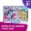 My Little Pony Equestria Friends Pinkie Pie, Rainbow Dash, and Applejack - image 3 of 4