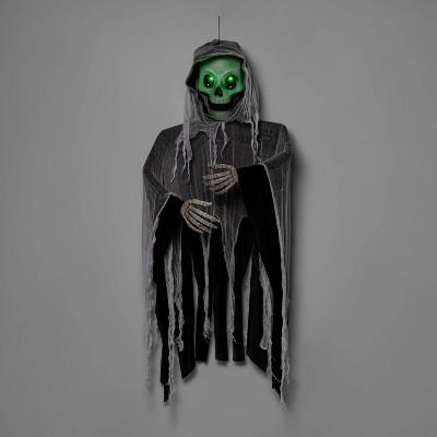 Lit Giant Skeleton Black/White Halloween Decorative Mannequin - Hyde & EEK! Boutique™
