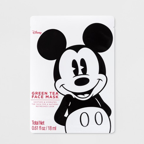 Mickey Mouse Face Mask Green Tea - 0.61oz - image 1 of 8