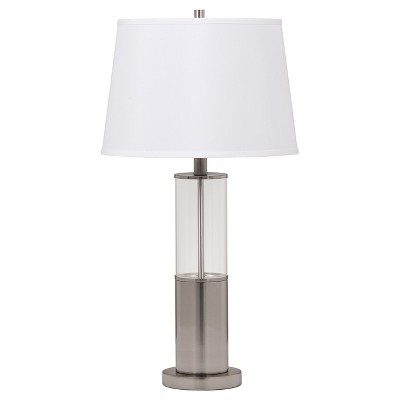 Norma Table Lamp (Set of 2) Silver Finish  - Signature Design by Ashley