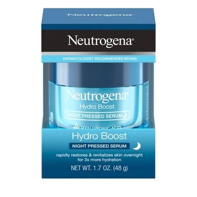 Neutrogena Hydro Boost Night Pressed Serum - 1.7oz